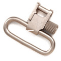"""Uncle Mikes 10932 Sling Swivel QD - SS BL Nickel 1"""" - 10932"""