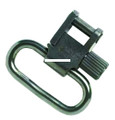 """Uncle Mikes 14022 Sling Swivels Non - Tri-Lock Blued 1"""" Clam - 14022"""