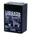 UPG D5733/UB645 Battery Only 6V - 4.5amp - D5733/UB645