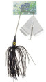 Wahoo WAH-PB38-3 Promo Buzz Bait - 3/8 oz, 4/0 Hook, Black, 1/Pack - WAH-PB38-3