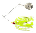 Wahoo WAH-PC14-CS Promo Spinnerbait - 1/4 oz, 4/0 Hook, Chartreuse Shad - WAH-PC14-CS