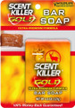Wildlife 1243 Scent Killer Gold Bar - Soap Carded - 1243