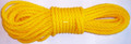 "Willapa 00227 Rope Twisted Poly - 3/8""x50' Yellow - 227"