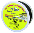 Woodstock TU-50-25-B Tip-Up Line - Black 25# 50Yd - TU-50-25-B