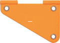 "Wordens 211-OR Free Sliding - Rudder/Spreader Orange 3.5"" - 211-OR"