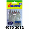 "Yamashita 1050-3012 Mini Squid - Hoochie, 2 1/4"", #20, Purple Haze - 1050-3012"