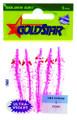 "Yamashita 1050-0224 Mini Squid - Hoochie, 2 1/4"", #20, UV Pink - 1050-0224"