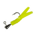 Leland Lures 12005 Mini Magnet 10pc - Pack-Chartreuse - 12005