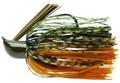 Terminator PJ3873 Pro's Jig 3/8 oz - Green Pumpkin Orange - PJ3873