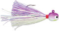 VMC HSG14-PA Hot Skirt Glow Jig 1/4 - Purple Albino - HSG14-PA