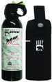 UDAP 18HP Super Magnum Bear Spray - W/Hip Holster, 35 ft Fog, 2% MC - 18HP