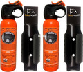 UDAP #12DCH 7.9 oz Bear Sprays with - Griz Guard Holsters (2-Pack) - #12DCH