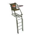 Millennium L-110-SL 21' Single - Ladder Stand, w/Large Platform - L-110-SL