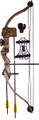 SA Sports 565 Bison Recurve - Compound Bow Set, 20lb Draw - 565