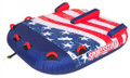 Sportsstuff 53-4312 Stars & Stripes - 2-Rider Towable - 53-4312