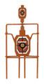 Allen 15243 Ez Aim Steel Silhouette - Spinner Target - 15243