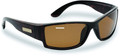 Flying Fisherman 7717TA Razor - Tortoise Amber Sunglasses - 7717TA