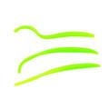 "Berkley PBHFTW3-GCH PowerBait Power - Floating Trout Worm, 3"" 15Pk, Green - PBHFTW3-GCH"