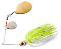 Booyah BYBCI38616 Colorado Indiana - Spinnerbait, 3/8 oz, White - BYBCI38616