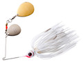 Booyah BYBCC38615 Double Colorado - Spinnerbait, 3/8 oz, Snow White - BYBCC38615