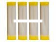 ConQuest Scents 16006 Ever Calm - Tube Refills 4pk Ror Stink Stick - 16006