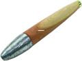 """Sea Striker 850 Unrigged Cedar Plug - 6"""", Unpainted/Natural - 850"""