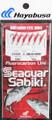 Hayabusa EX030-6 Sabiki Seaguar Red - Hook Red Aurora Sz 6 (6 Hooks) - EX030-6
