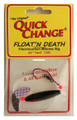 Quick Change MW1 Float'n Death- - Fluorocarbon Minnow Rig - WING- - MW1