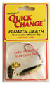 Quick Change MW2 Float'n Death- - Fluorocarbon Minnow Rig - WING- - MW2