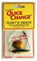 Quick Change MC2 Float'n Death- - Fluorocarbon Minnow Rig - Colo. Sz - MC2