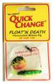 Quick Change MC3 Float'n Death- - Fluorocarbon Minnow Rig - Colo. Sz - MC3