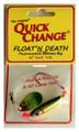 Quick Change MC4 Float'n Death- - Fluorocarbon Minnow Rig - Colo. Sz - MC4