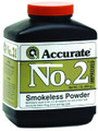 Accurate No 2 Double Base Smokeless - Powder For Handguns, 1Lb, State - NO 2