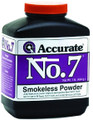 Accurate No 7 Double Base Smokeless - Powder For Handguns, 1Lb, State - NO 7
