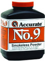 Accurate No 9 Double Base Smokeless - Powder For Handguns, 1Lb, State - NO 9