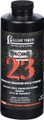 Alliant RELODER 23 Smokeless Magnum - Rifle Powder 1 Lb State Laws Apply - RELODER 23