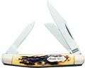 Uncle Henry 807UH Junior Folding - 3-Blade Pocket Knife. Staglon - 807UH