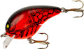 "Bomber B05SLXC5 Value Square A - Crankbait, 2"", 3/8 oz, Apple Red - B05SLXC5"