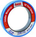 Ande PCW50-20 Mono Leader Wrist - Spool 20lb 50yd Clear - PCW50-20