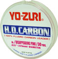 Yo-Zuri HD12LBDP H.D. Carbon - Fluorocarbon Leader 12lb 30yd Pink - HD12LBDP