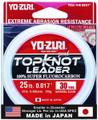 Yo-Zuri TKLD25LBNCL30YD Topkot - Fluorocarbon Leader 25lb 30yd Clear - TKLD25LBNCL30YD
