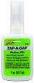 ZAP PT-02 -A-Gap Glue Green-Label - Medium CA+ 1oz - PT-02