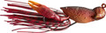 LiveTarget CHB40S306 Crawfish - - Hollow Body Jig 1 1/2in 3/8 oz, Red - CHB40S306