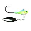 Fish Head 1101105 Spin Jighead, 1/4 - oz, 5/0 Hook, Sexy Shad - 1101105