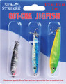 GOT-CHA JFA-3PK Jigfish Kit , 3 per - Pack, Includes JF12-BTS, JF34-BYS - JFA-3PK