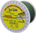 Woodstock TU-1000-36-G Tip-Up Line - 1000yd 36# Green - TU-1000-36-G