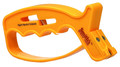 Smith's JIFF-S 10 Second Handheld - Knife & Scissors Sharpener, Yellow - JIFF-S