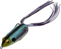 "Booyah BYPC3908 Pad Crasher Hollow - Body Frog, 2 1/2"", 1/2 oz, Aqua Frog - BYPC3908"