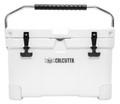 Calcutta CCG2-20 Renegade Cooler 20 - Liter White w/LED Drain Plug, SS - CCG2-20