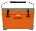 Calcutta CCOTG2-20 Renegade Cooler - 20 Liter Orange w/ tan lid, w/LED - CCOTG2-20